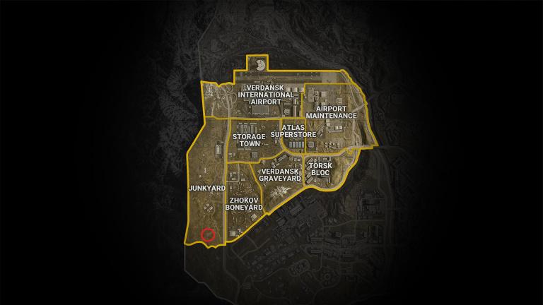 Call of Duty Warzone, saison 6, mission Resserrez le nœud : L'équipe était en route vers un bunker, notre guide