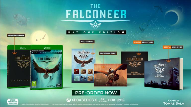 The Falconeer dévoile le contenu de sa version physique