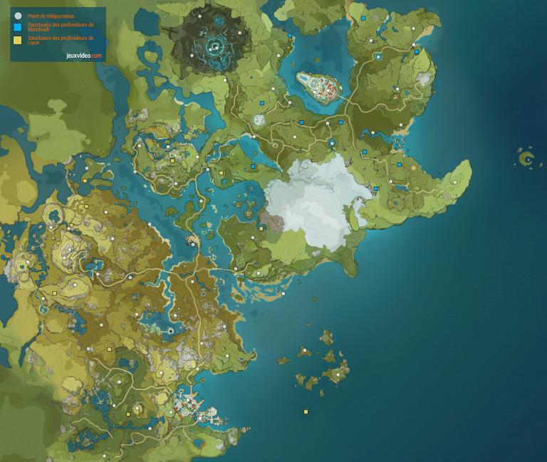 Genshin Impact, Sanctuaires des profondeurs : où les trouver ? Comment les débloquer ? Notre guide