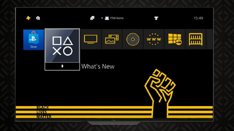 PlayStation 4 : Un thème Black Lives Matter disponible