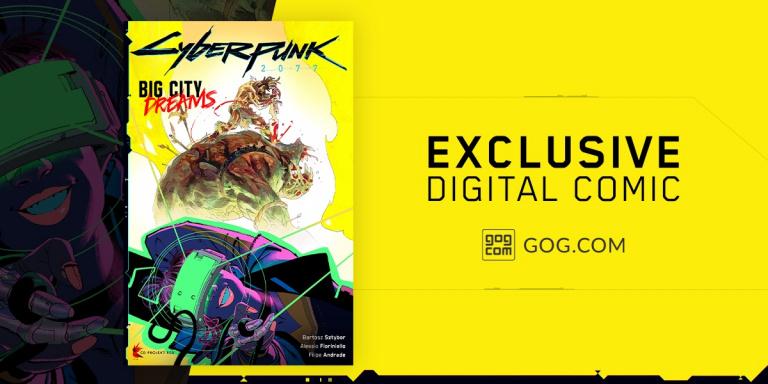 Cyberpunk 2077 : un comic book numérique exclusif pour les acheteurs sur GOG