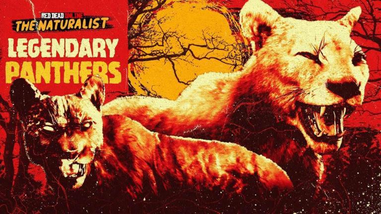 Red Dead Online célèbrera Halloween avec des panthères