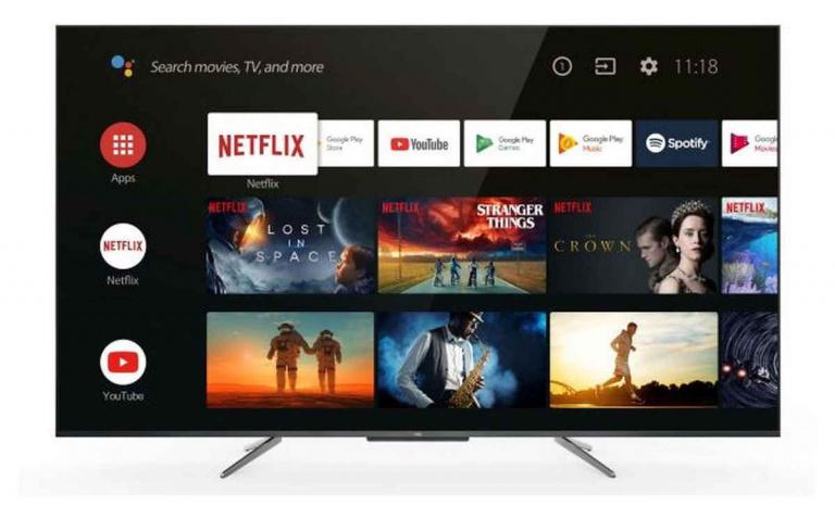Un téléviseur QLED 4K/60 Hz 55 pouces à 499 euros