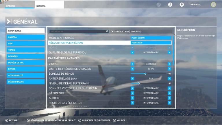 On a joué à Flight Simulator et Forza Horizon 4 en 8K, sur un RTX 3090: ça se passe bien!