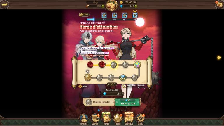 Seven Deadly Sins Grand Cross, Shin joueur, faut-il l'invoquer ? Analyse et guide