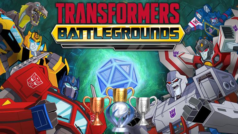 Transformers Battlegrounds : la liste de trophées et succès est disponible