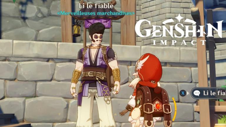 """Genshin Impact, événement """"Merveilleuses marchandises"""", comment récupérer les boîtes et le compléter, notre guide (Jour 7)"""