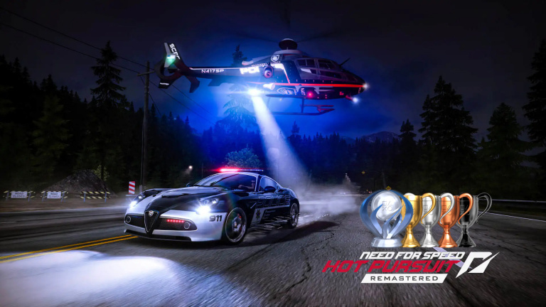 Need for Speed : Hot Pursuit Remastered, la liste de trophées et succès est disponible