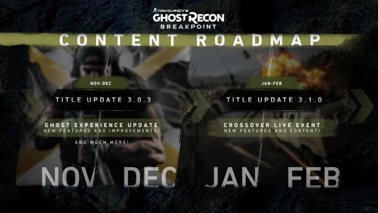 Ghost Recon Breakpoint fait le point sur ses prochaines mises à jour