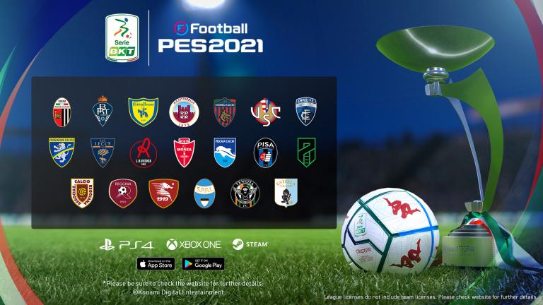 PES 2021 : Konami signe un nouveau partenariat avec le football italien