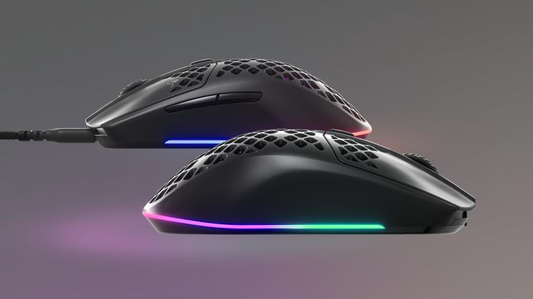 SteelSeries Aerox 3 et Aerox 3 Wireless, deux nouvelles souris ultralégères
