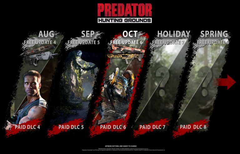 Predator : Hunting Grounds dévoile son Predator Viking