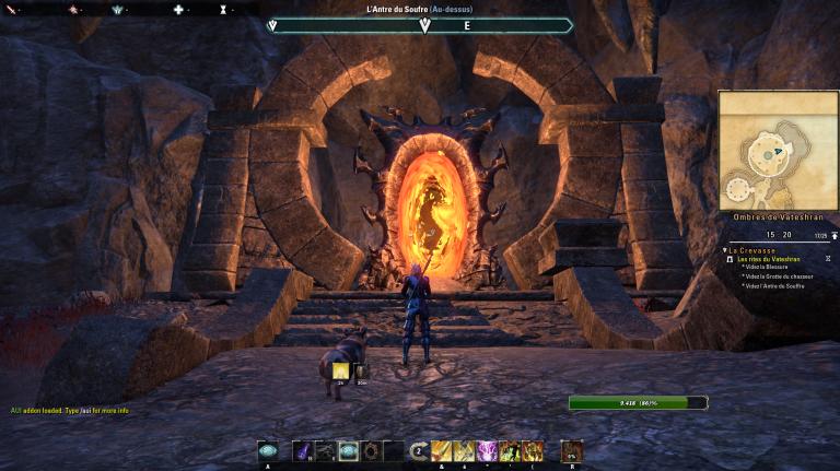 The Elder Scrolls Online, Greymoor : Le creux de Vateshran, nouvelle arène solo