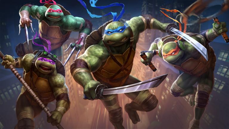 SMITE : Les skins des Tortues Ninja sont disponibles