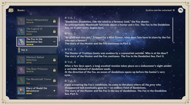 Genshin Impact, update : les notes de mises à jour de la version 1.1