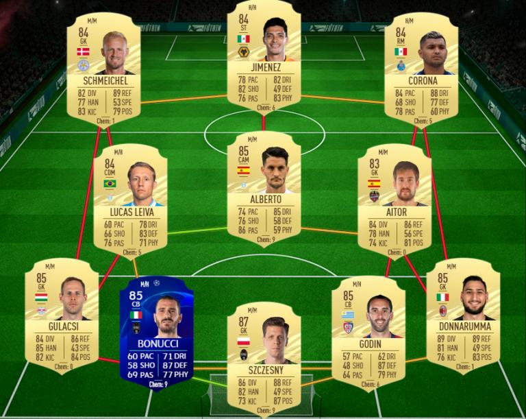FIFA 21, DCE : Mikel OYARZABAL, joueur du mois LaLiga, solution du défi création d'équipe