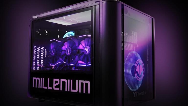 Millenium Equipment lance le PC MM2 mini équipé de la RTX 3080