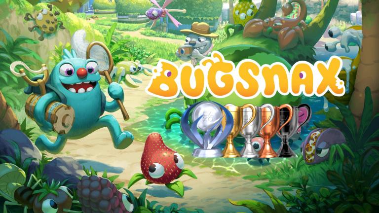 Bugsnax : la liste de trophées est disponible