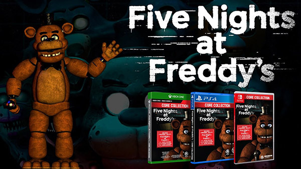 Five Nights at Freddy's : Core Collection s'annonce sur PS4, Xbox One et Switch