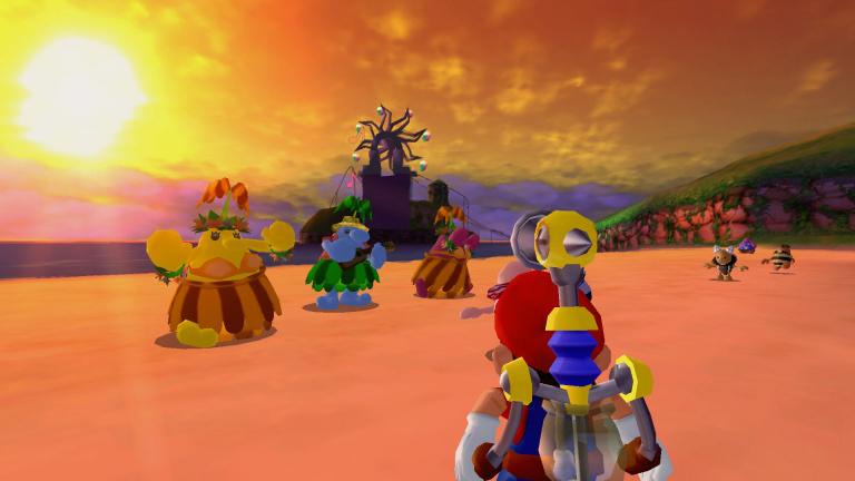 Super Mario 3D All-Stars : la manette GameCube désormais compatible avec Super Mario Sunshine