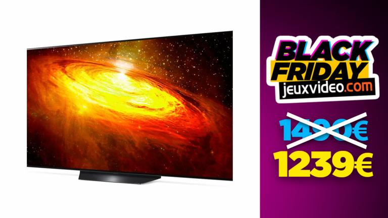 TV LG OLED55BX 4K en réduction avant le black friday