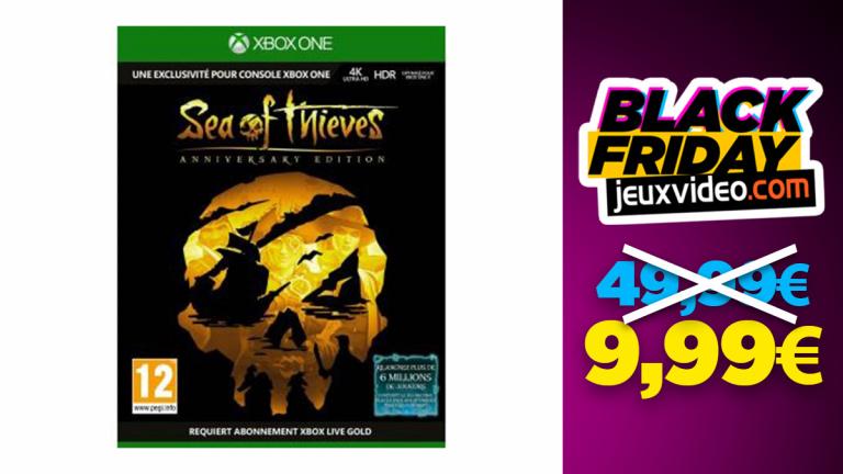 Sea of Thieves Anniversary Edition à moins de 10€ avant le black friday