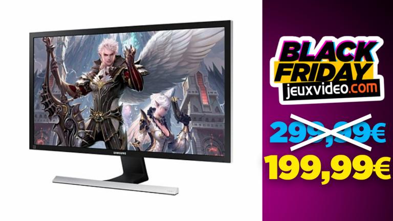Black Friday : L'écran 28 pouces Samsung U28E570DS à moins de 200€