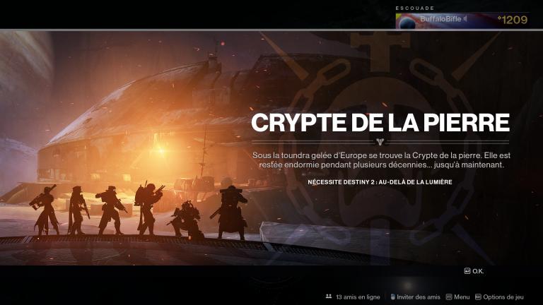 Destiny 2, guide raid Crypte de la Pierre : Partie 3
