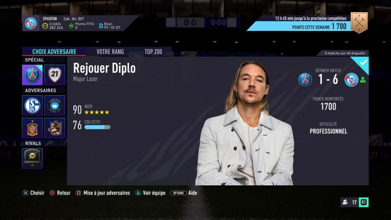 FIFA 21, FUT : défis hebdomadaires semaine 1, saison 2, notre guide