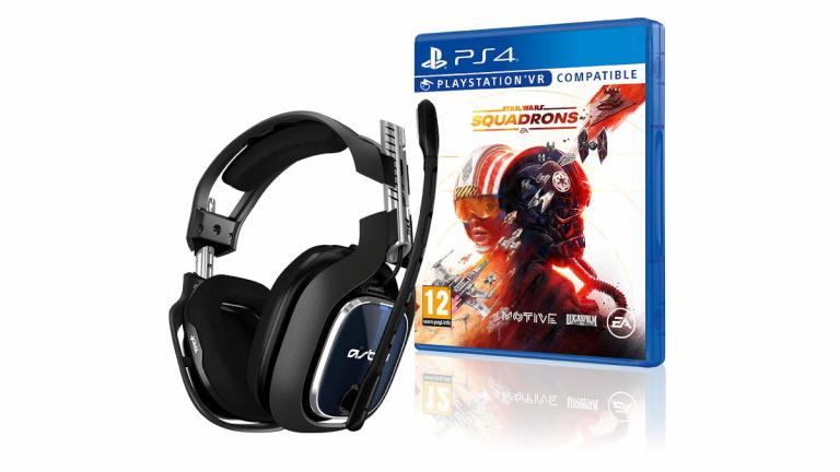 Le pack ASTRO Gaming A40 TR et Star Wars Squadrons pour PS4 à 169,99€ avant le Black Friday
