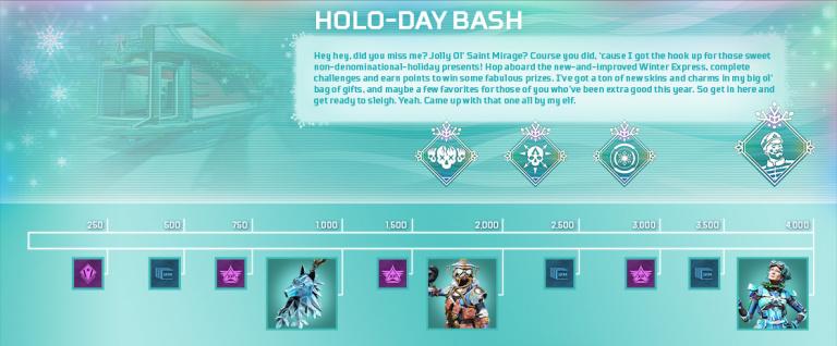 Apex Legends : l'événement Holo-Fêtes revient le 1er décembre