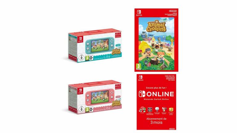 Pack Nintendo Switch Lite + Animal Crossing NH à prix réduit chez la Fnac avant le Black Friday