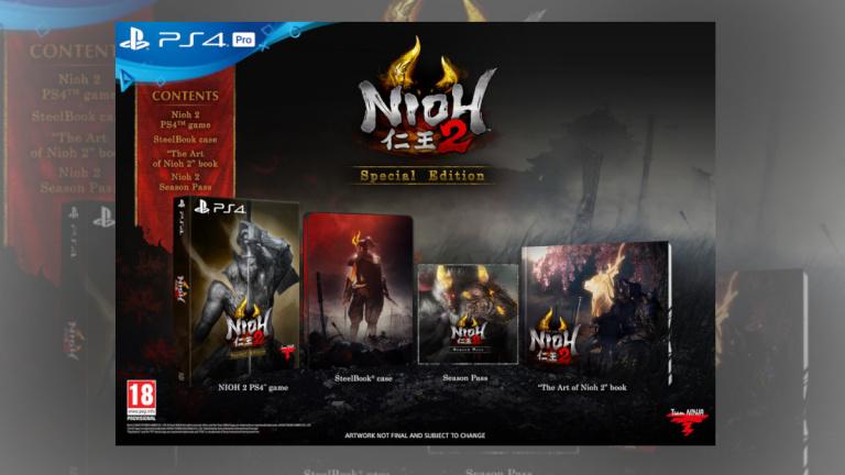 Nioh 2 Special Edition pour PS4 à 44,99€ avant le Black Friday