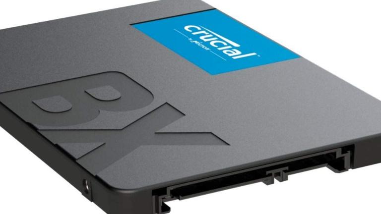 Black Friday : Petit prix sur les SSD internes Crucial chez Amazon