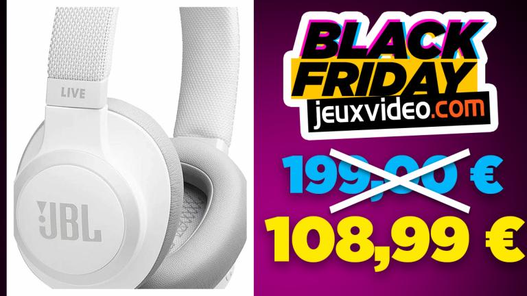 Black Friday : Le casque JBL LIVE 650BTNC en réduction chez Amazon
