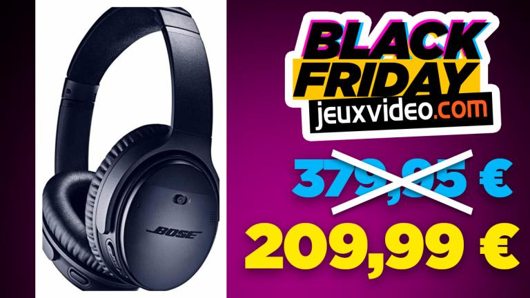 Black Friday : Sélection d'accessoires Bose en promotion jusqu'à 45% sur Amazon