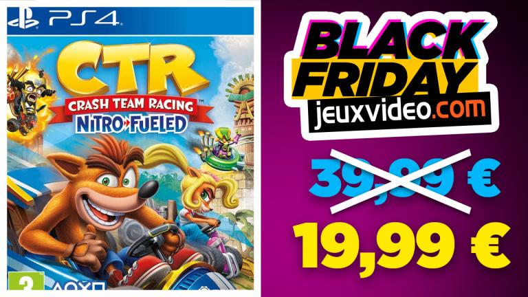 Black Friday : Crash Team Racing Nitro-Fueled à moins de 20€ sur Amazon