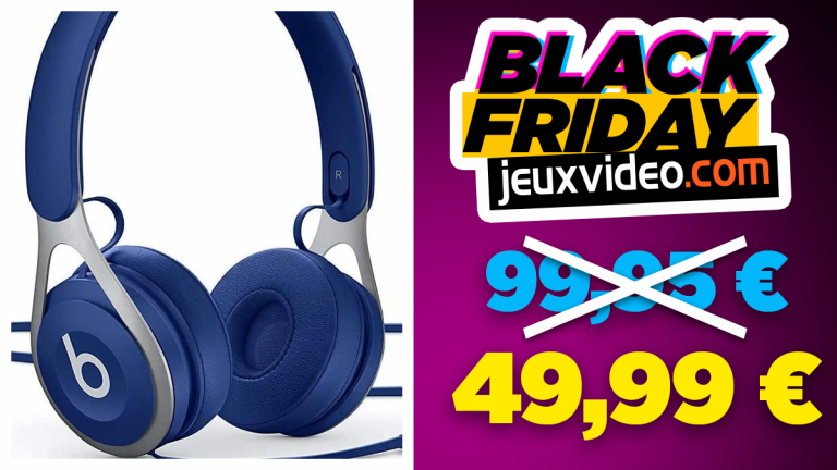 Black Friday : Des casques Beats jusqu'à -50% chez Amazon