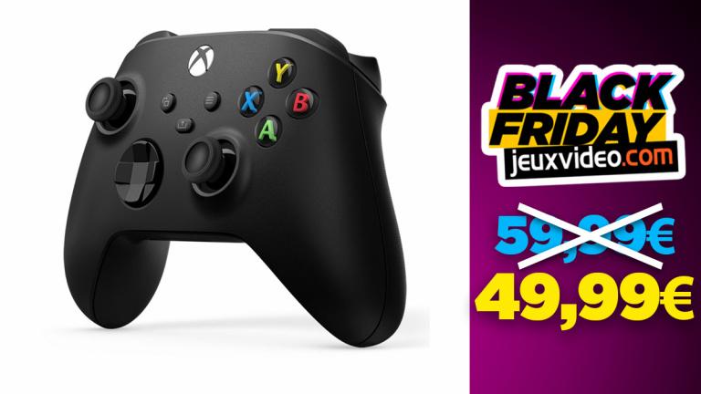 Black Friday : La manette Xbox Series Noire à 50€ chez Boulanger