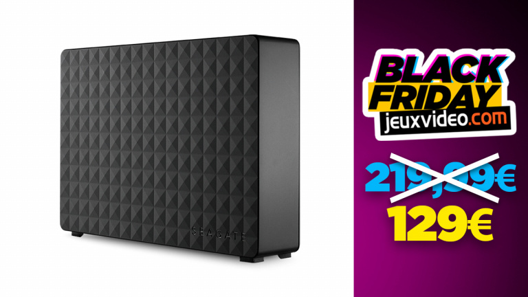 Black Friday : Le disque dur externe Seagate de 8To baisse les prix chez Darty