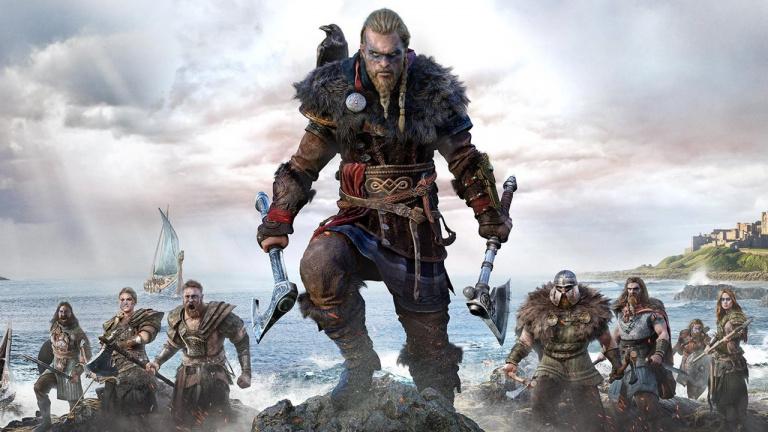 Assassin's Creed Valhalla sur PS5 baisse les prix chez Cdiscount