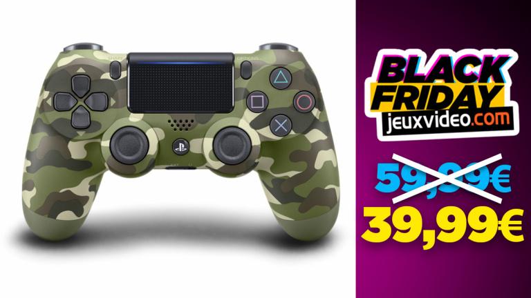 Black Friday : Les DualShock 4 à 39,99 € chez Micromania