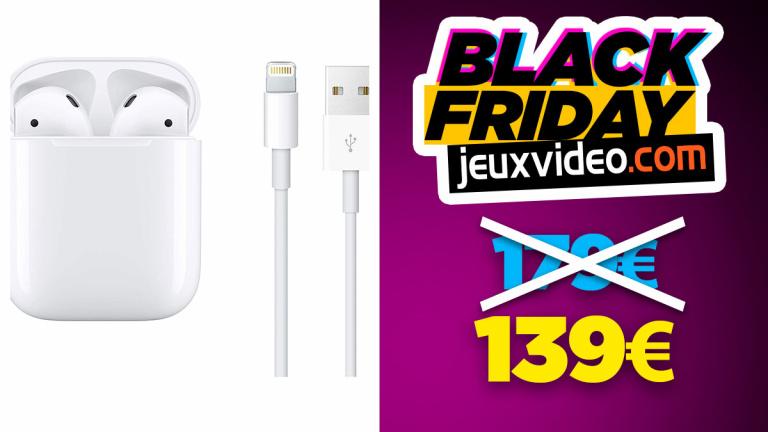 Black Friday : les AirPods 2 à 139 € chez Amazon