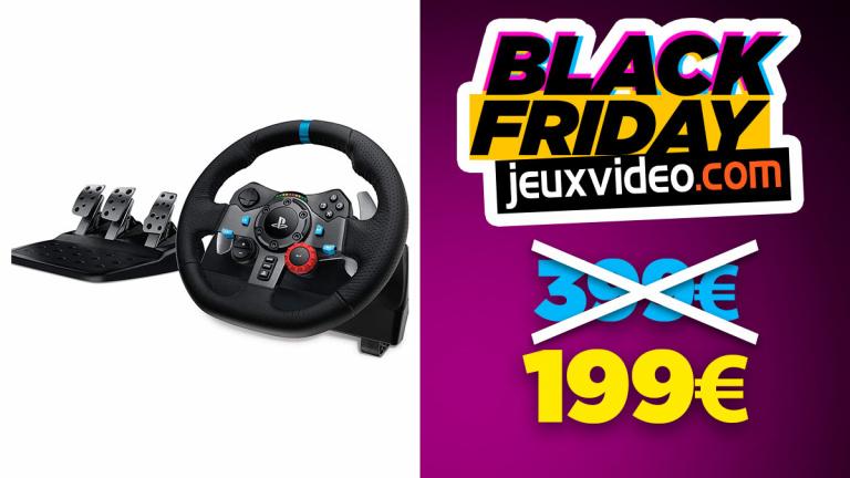 Black Friday : Le Logitech Driving Force G29 à moins de 200€ sur Amazon