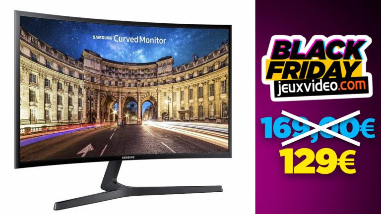 Black Friday : L'écran incurvé HD Samsung C27F398FWU à -24% chez Amazon