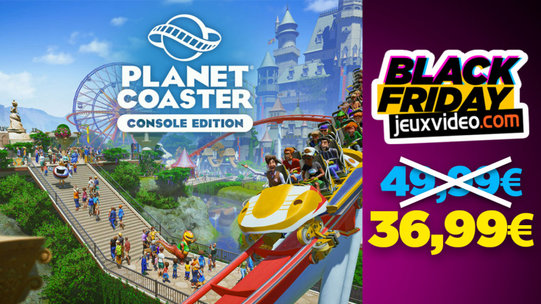 Black Friday : Planet Coaster PS5 en promo chez Cdiscount