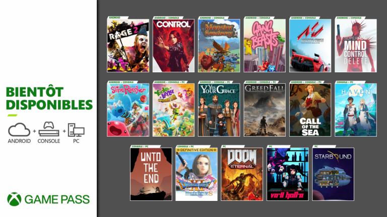 Game Pass : La liste des ajouts de décembre, avec Control et Greedfall