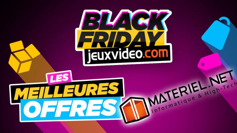 Black Friday 2020 : Les meilleures offres chez Materiel.net