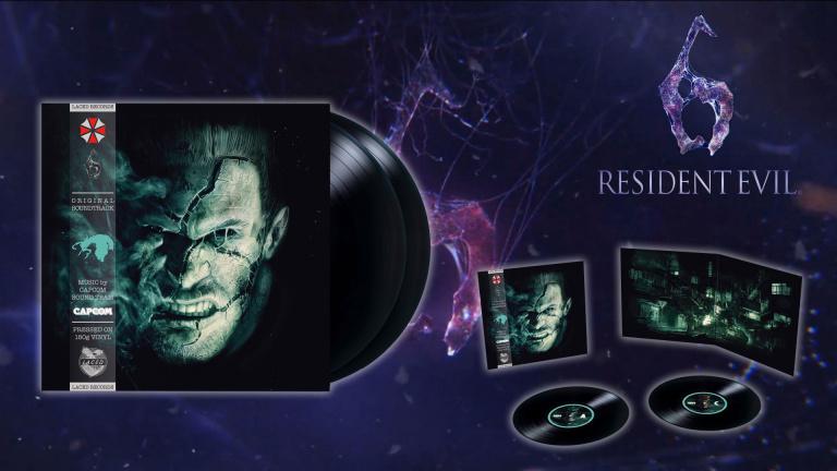 Resident Evil 6 - Le double vinyle disponible en précommande