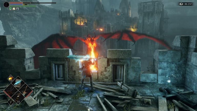 Tuer le dragon rouge dans le monde 1